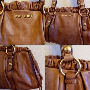 Miu Miu Bags - MIU MIU Brown Satchel
